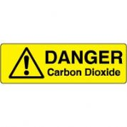 Markers safety sign - Carbon Dioxide 003